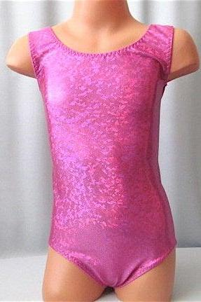 Girls CUSTOM MADE LEOTARD~Gymnastics Skating Ballet Sparkles